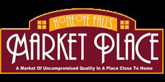 A theme logo of Honeoye Falls Market Place